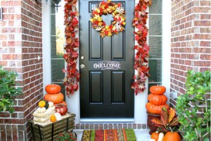 10-autumn front door decoration