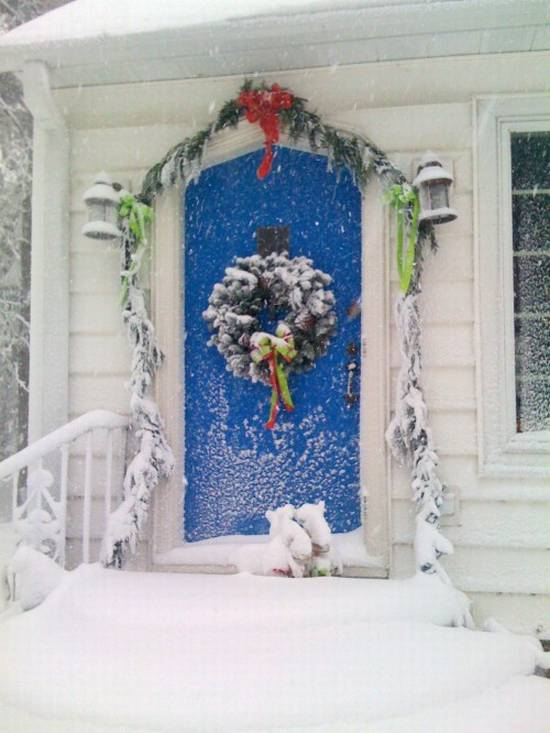 Attirant Front Door Decorations