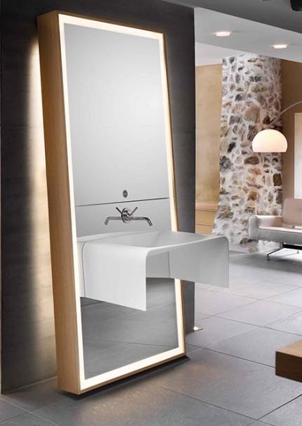 Bathroom mirror ideas for Full length bathroom mirror