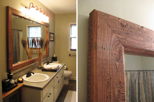 Bathroom Mirror Ideas - SweetHomeDesignIdeas.