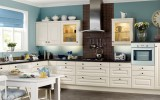<b>Kitchen With White Cabinets</b>