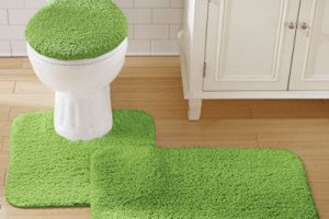 2-traditional bathroom rug