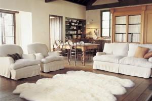 Fluffy rug pad