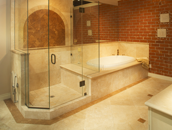 Types of bathroom flooring options