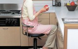 <b>Kitchen Chairs with Casters</b>