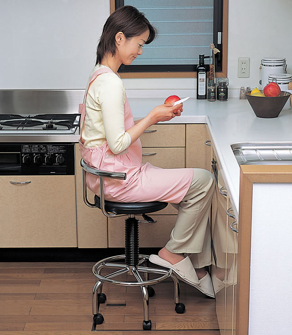 Kitchen Chairs On Wheels: Kitchen Chairs With Casters