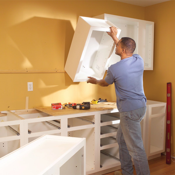Kitchen Hanging Cabinet: Tips And Tricks Of Installing Kitchen Cabinets
