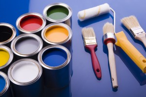 4-paints and tools for painting