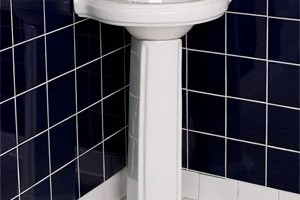 Pedestal Sink for Smaller Bathroom