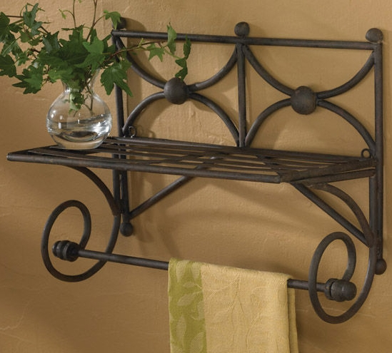 30 decorative towel bar 390