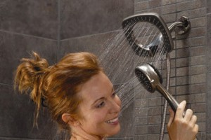 Two Showerheads