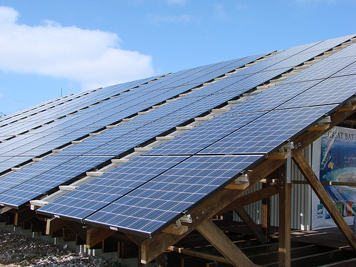 Saving Environment with Utilized Solar Panels Effect