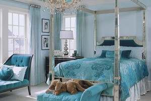 Blue beautiful room paint colors idea for your house