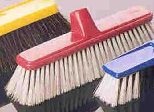 Bristle brush bathroom mold tile cleaning process