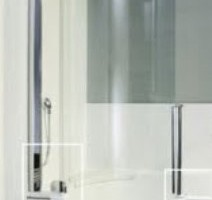 Change the shape showers for small bathrooms renovations ideas