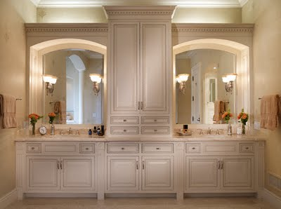 Custom Order Bathroom Cabinets - Various Custom Order Bathroom