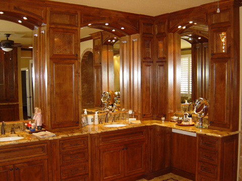 The Luxurious Custom Order Bathroom Cabinets