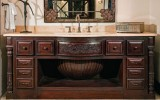 <b>Custom Designed Bathroom Cabinets</b>