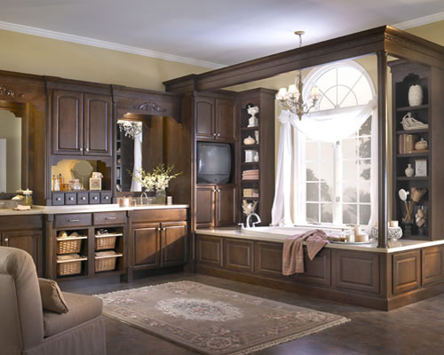 A Wide Option of Custom Designed Bathroom Cabinets