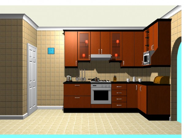 Online free program kitchen planner design my kitchen for Make a blueprint free online