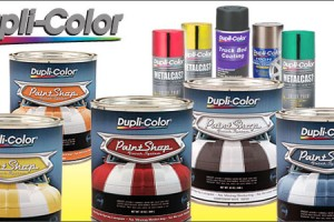 Duplicolor Paint Shop Colors Options
