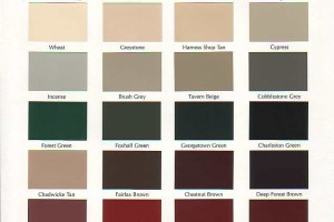 Duron Paint Color Chart