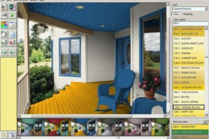 Exterior Paint Color Simulation program