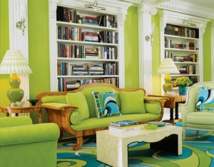 Green beautiful room paint colors  idea for your house