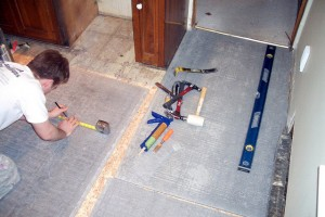 The steps on How to Install Cement Board in Bathroom
