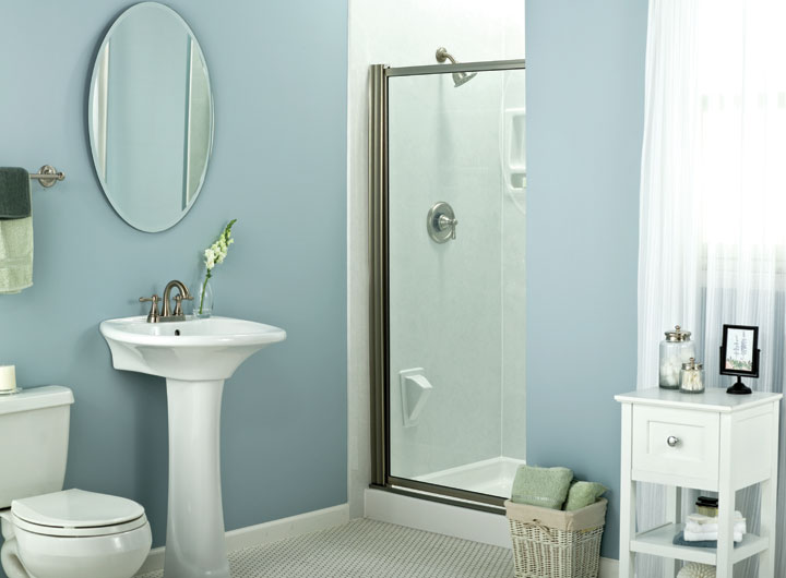 Renovating Small Bathrooms Way To Make It Look Bigger