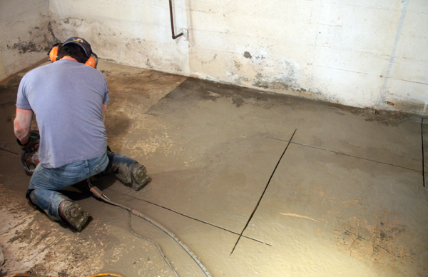The Process of How to Plumb a Basement Bathroom