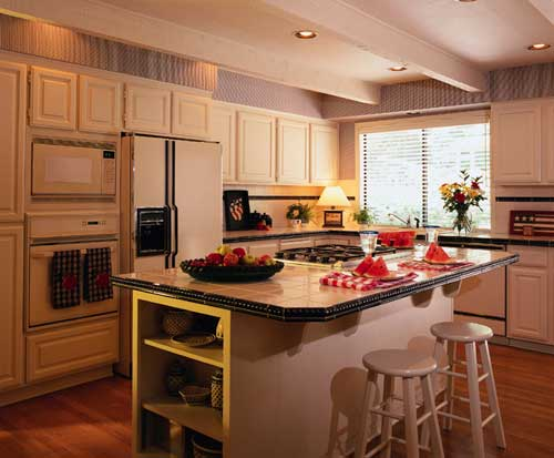 better homes and gardens home kitchen planning kraftmaid cabinetry popular kitchen floor plans the best for your family on best of - Better Homes And Gardens Kitchen Ideas