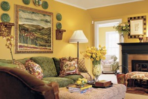 How to Choose a Living Room Paint Color