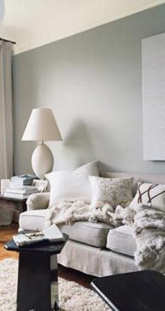 Living room Warm Grey Paint Color