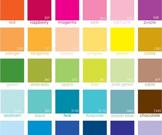 Lowe's Paint Color Chart
