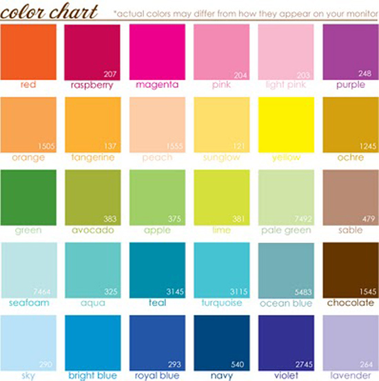 Lowe\'s Paint Color Chart Guide