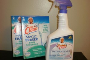 Mr. Clean Bathroom Scrubber
