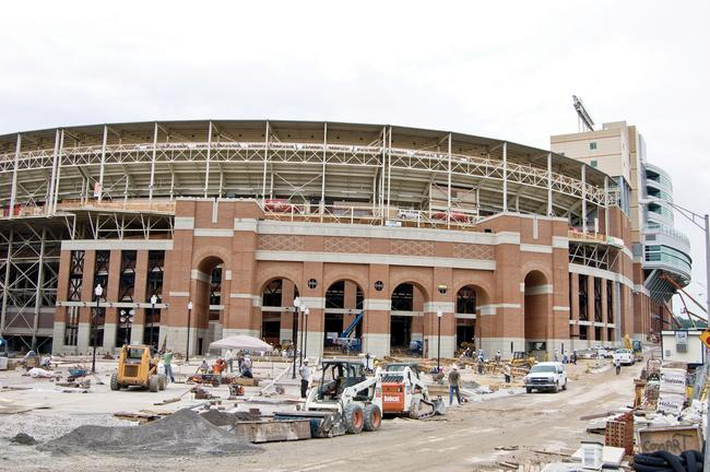 The Process of Neyland Stadium Renovations 2010