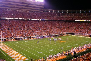 The Result of Neyland Stadium Renovations 2010