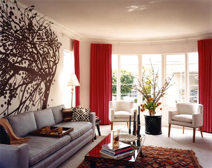 Ideas For Living Room Wall - SweetHomeDesignIdeas.