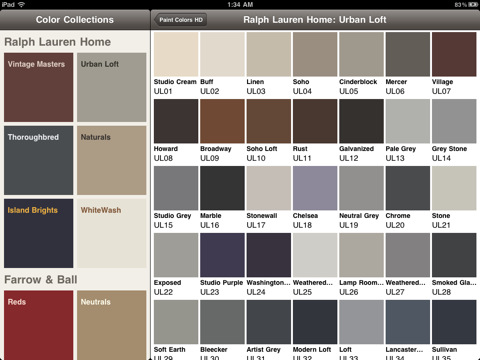The Options of Ralph Lauren Suede Paint Colors