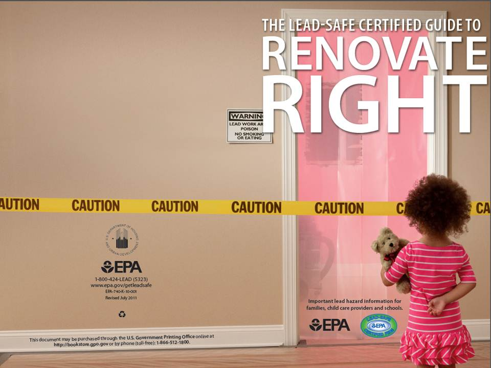 The Spreading Renovate Right Booklet