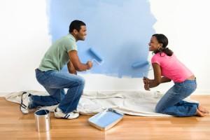 Repaint interior decorating ideas for living room