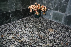 Stone natural best flooring for bathrooms idea