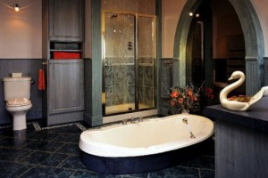 Vinyl long lasting best flooring for bathrooms idea