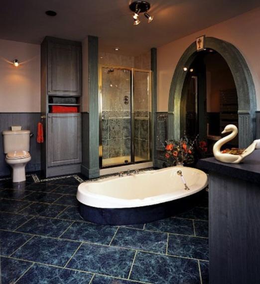 Best flooring for bathrooms the best flooring for for Best vinyl for bathrooms