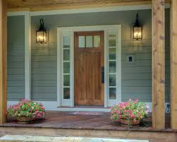 Wood popular and best exterior door paint colors idea