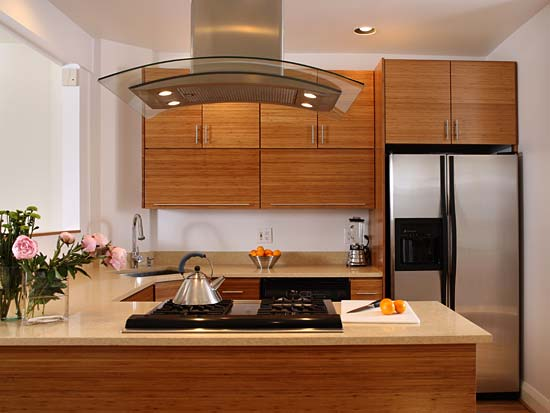 Bamboo Kitchen Cabinets for designing home