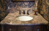 <b>Bathroom Countertops with Built-in-Sinks</b>