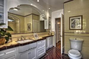 The Built-in-Sinks Countertops for Bathroom